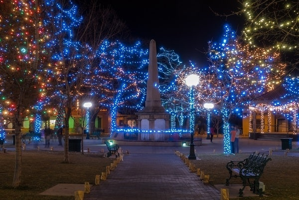 Christmas in Santa Fe - The Best Light Displays, Parades, and Events