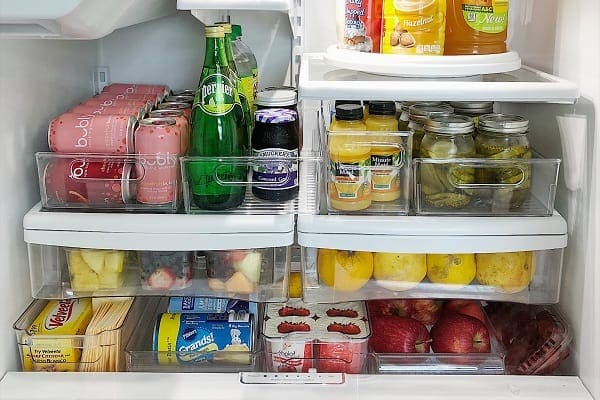 How to Organize French Door Refrigerator