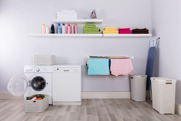 6 Laundry Room Organization Ideas to Make Life Easier