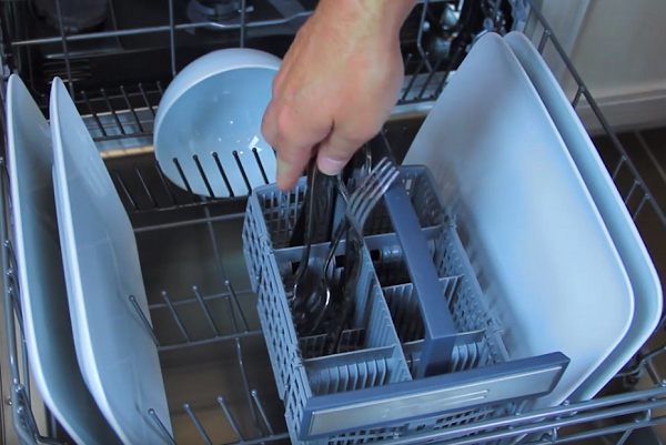 how to load a thermador dishwasher