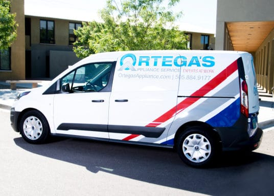 about ortega's appliance service