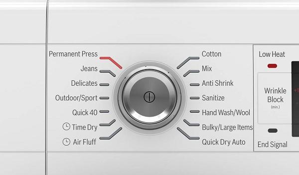 bosch dryer start button not working